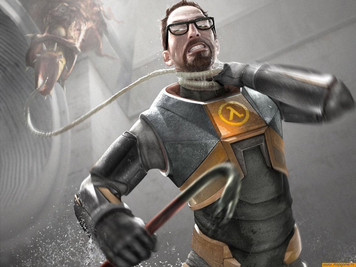 Я до сих пор не понимаю всеобщего восторга от Half-Life 2. Примитивный шутер с отсутствием сюжета (ну да, революция ... - Изображение 1