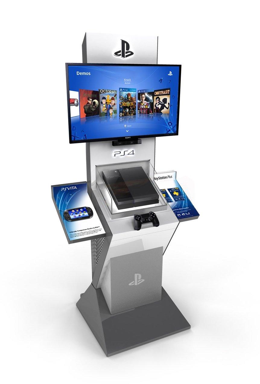 Согласно объявлению на американском PlayStation Blog, компания Sony начала распространение демо-стендов PlayStation  ... - Изображение 2