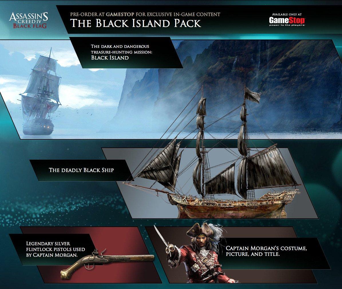 Компания Ubisoft рассказала о бонусах предварительного заказа игры Assassin's Creed 4: Black Flag, которые будут дос ... - Изображение 1