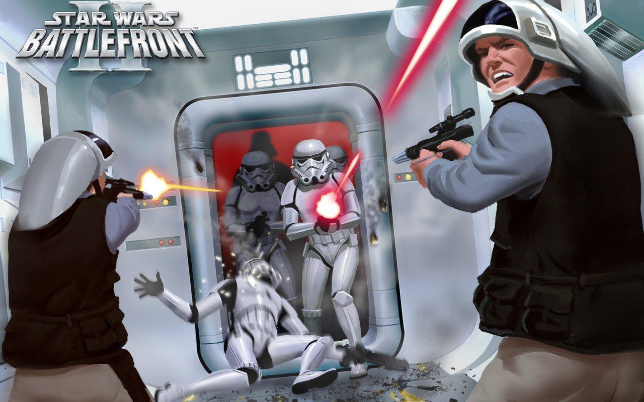 Есть занятное предложение собраться всем активном канобушки и сыграть в Star Wars Battlefront 2 в этот понедельник,  ... - Изображение 1