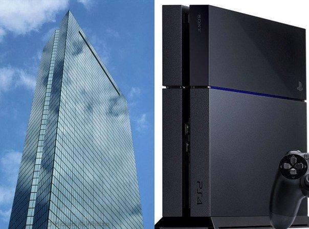 PS4 — это уменьшенная башня Джона Хэнкока из Бостона. - Изображение 1