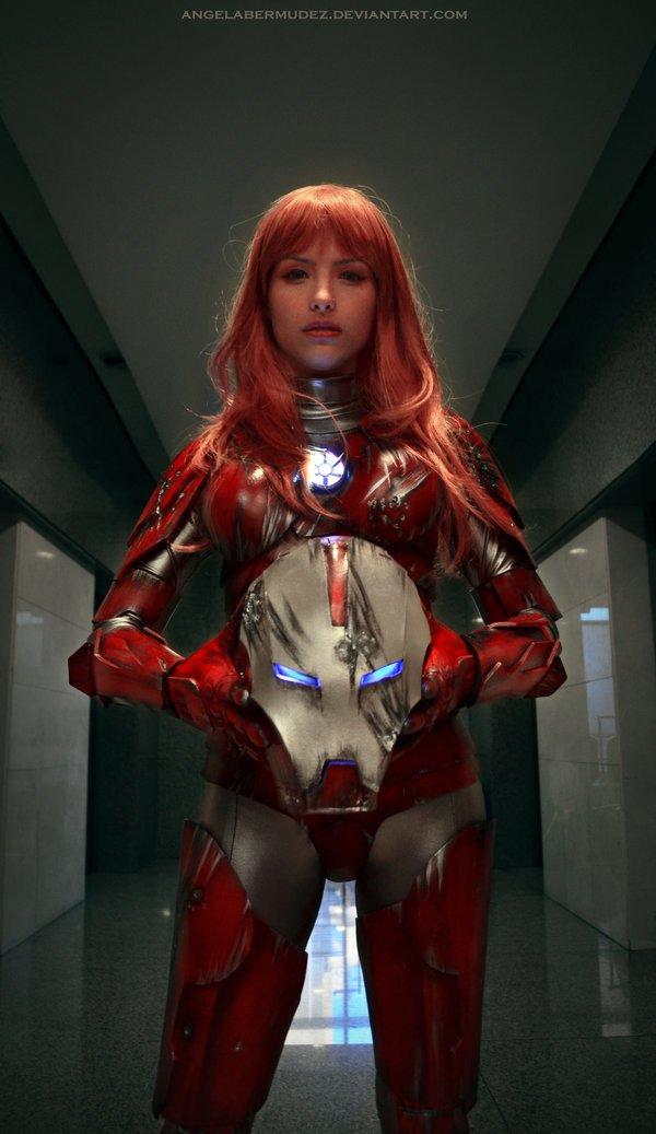Iron Woman #cosplay - Изображение 3