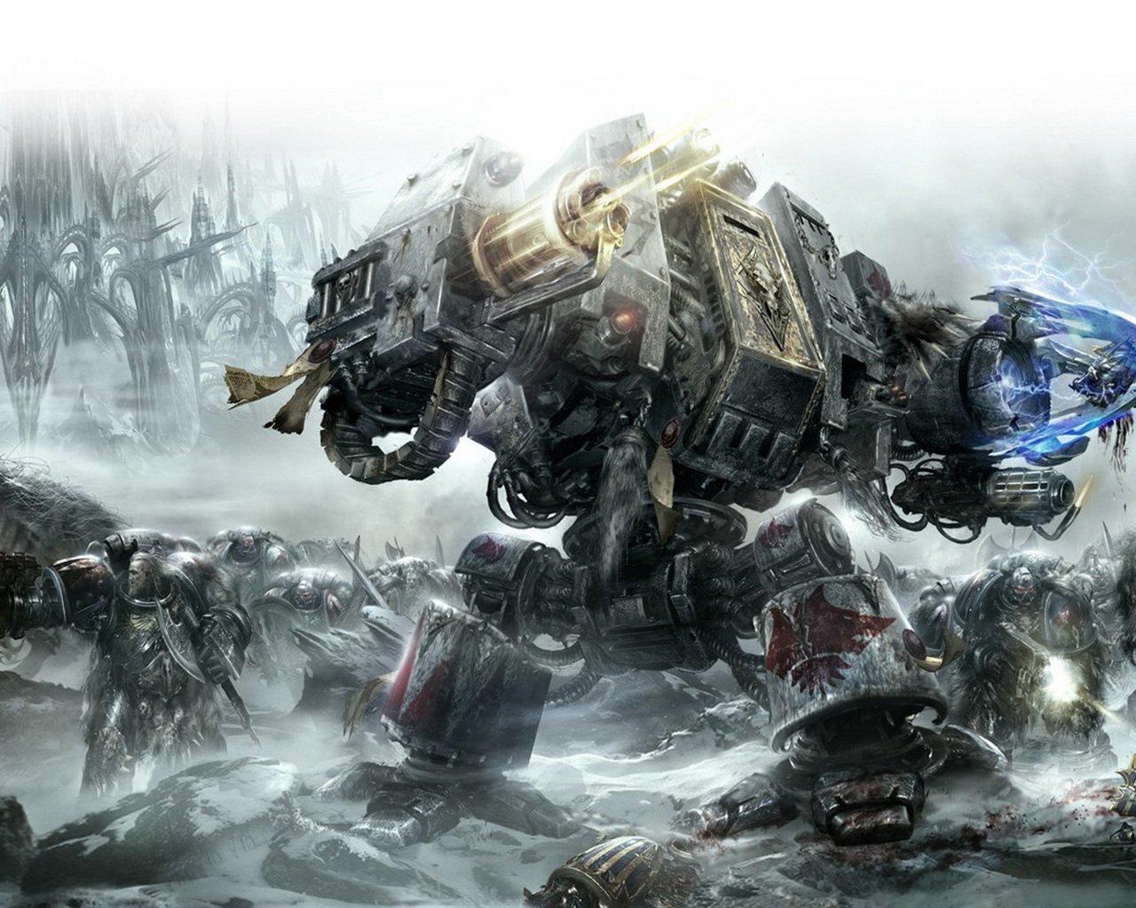 Специально для фанов Warhammer'а, уж не знаю было ли это на канобу или нет, но все же.Британская компания Slitherine ... - Изображение 1