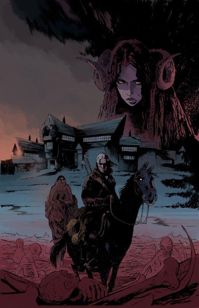 Еще один комикс, который нам интересен, выйдет в 2014 году. Это новая серия комиксов по Ведьмаку.  Геральт путешеств ... - Изображение 1