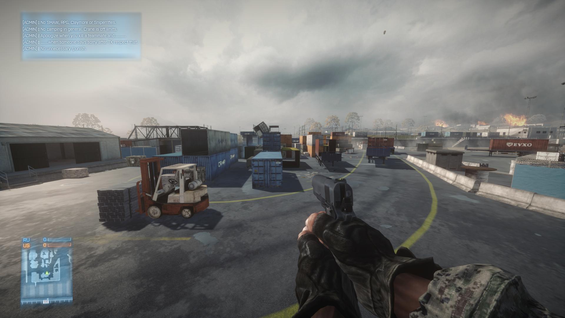 Battlefield 3. Первый скриншот сделан в феврале 2012 г, второй – в июне 2013, настройки одинаковые. - Изображение 1