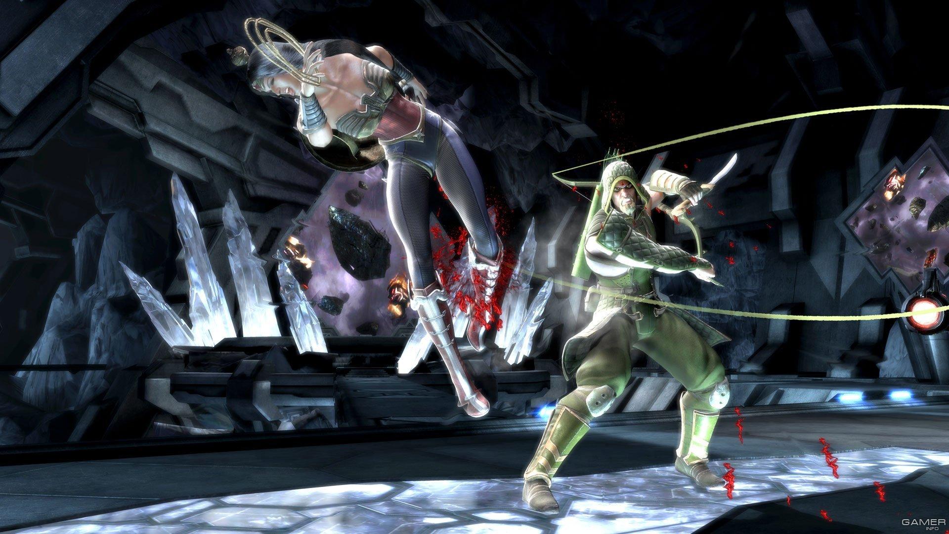 Картинки из нового файтинга Injustice: Gods Among Us Ultimate Edition. - Изображение 3