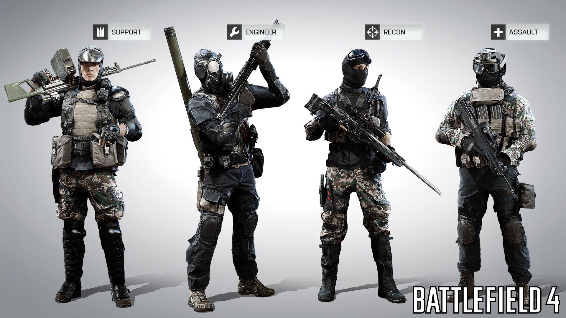 Вот нам и показали как будут выглядеть русские и китайские бойцы в #BF4. Лично мне наши очень нра ) - Изображение 2
