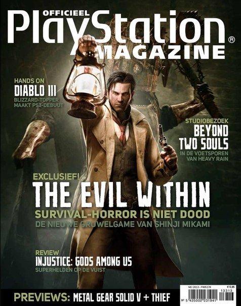 """Новые скриншоты The Evil Within и обложка PlayStation Magazine:  Игра выходит в 2014 году на PS3, PS4, Xbox 360, """"Но ... - Изображение 1"""