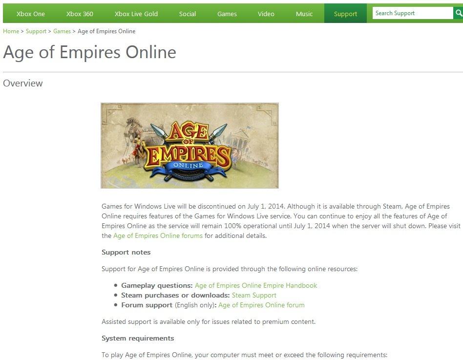 Я прнс. Закрывают GfWM и GfWL. Что будет с играми, привязанными к этим сервисам, полное хз, но работу AoE Online гар ... - Изображение 1