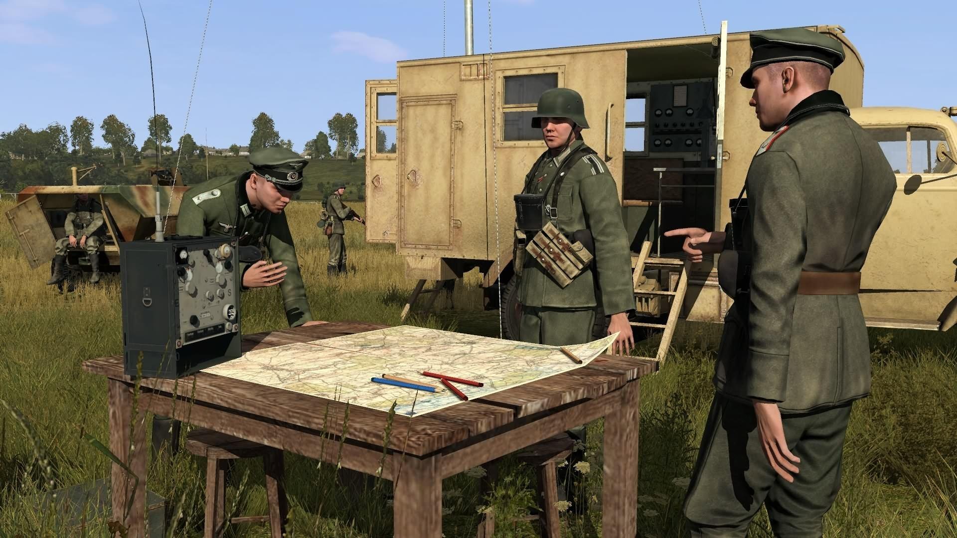На вполне пацриотизма обзавёлся Iron Front: Liberation 1944. Очень круто, если вы фанат серии ArmA II. - Изображение 1