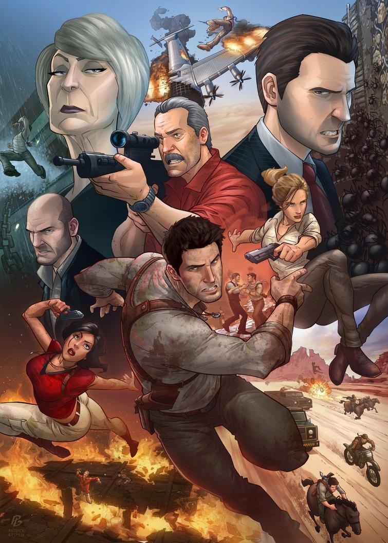 Бесплатную версию мультиплеера Uncharted 3 (26 февраля) на сегодняшний день скачали более 350 тысяч пользователей. Т ... - Изображение 1