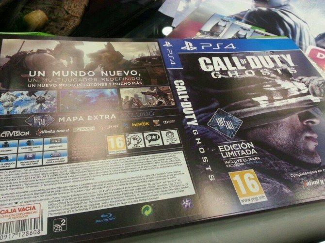 Совсем недавно появилась фотография бокс-арта Call of Duty: Ghosts для PS4, на котором представлена функция оффлайн  ... - Изображение 1