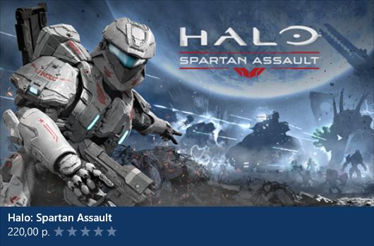 Посоны, вышел Halo: Spartan Assault на Windows8!!!!!!!! Ахахахах, за 30 руб купил =) - Изображение 1