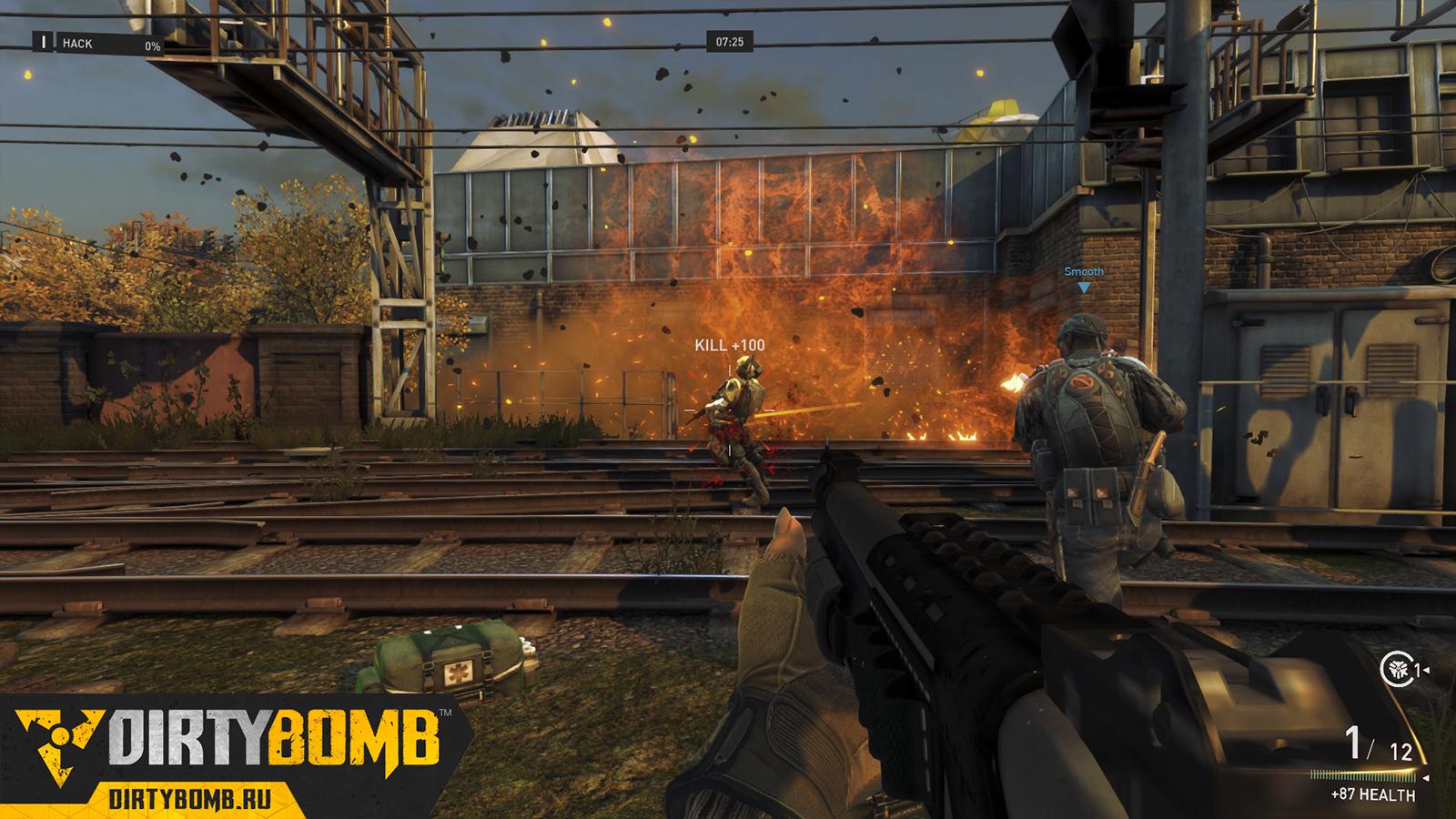 Разработчики Dirty Bomb рассказывают о режимах игры!  Стали известны подробности о режимах игры в сетевом шутере Dir ... - Изображение 1