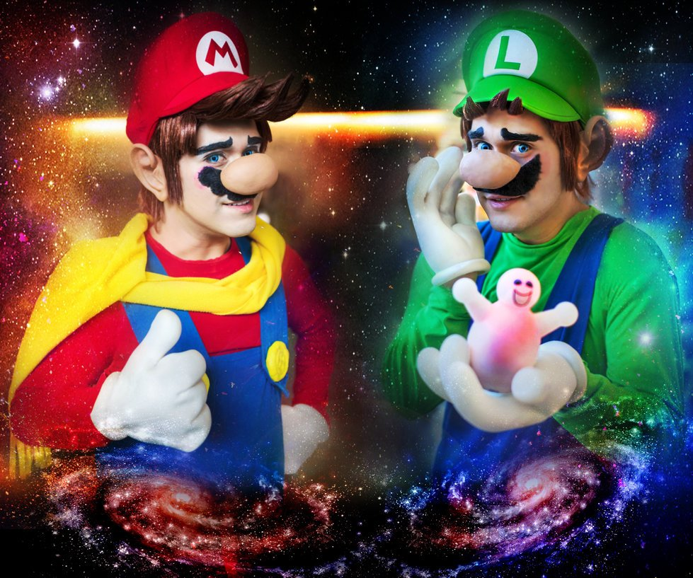 Super Mario Cosplay. - Изображение 1