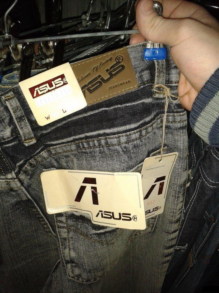Вот до чего ASUS докатилась.)) Они делают джинсы! А я бы  не прочь такие купить.) - Изображение 1