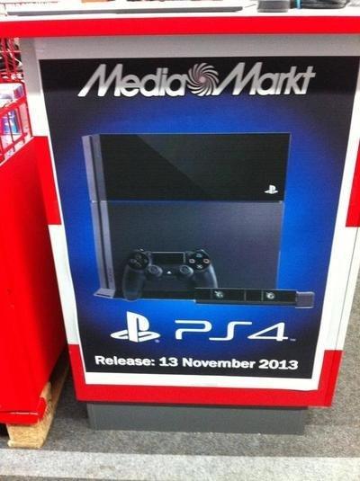 Европейский старт PlayStation 4 намечен на 13 ноября ? - Изображение 1