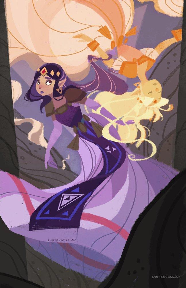 Princess Hilda art The Legend of Zelda: A Link Between Worlds - Изображение 3