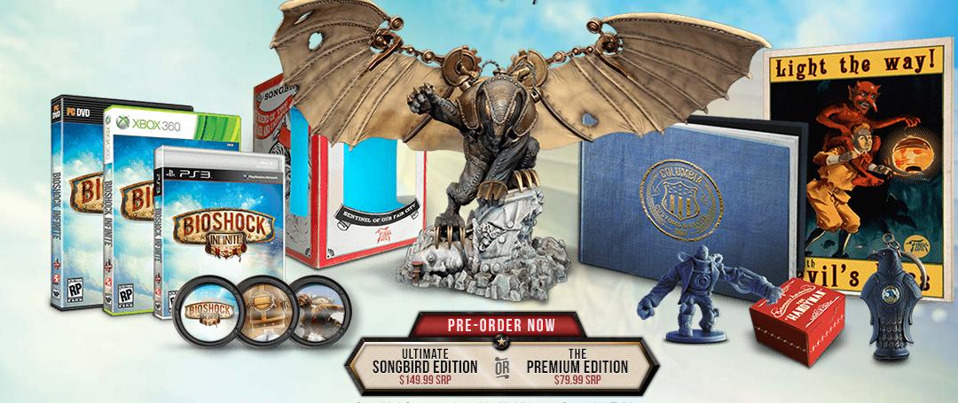 Коллекционное издание Bioshock Infinite - Изображение 1