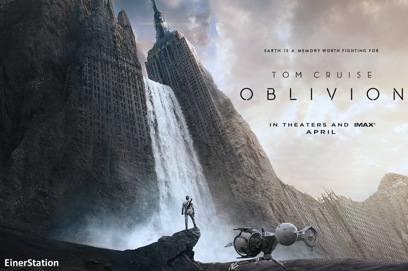 АХТУНГ! СПОЙЛЕРЫ!  Посмотрел сегодня фильм Забвение (Oblivion). Вроде хороший фильм, хорошие спецэффекты, игра актёр .... - Изображение 1
