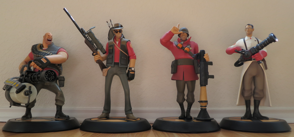 Gaming Heads Exclusive Edition TF2 Statues - Изображение 1