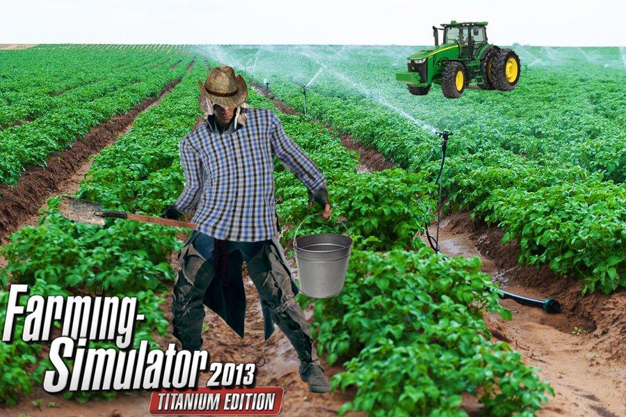 #веселыйфермер ассасин-фермер - Изображение 1