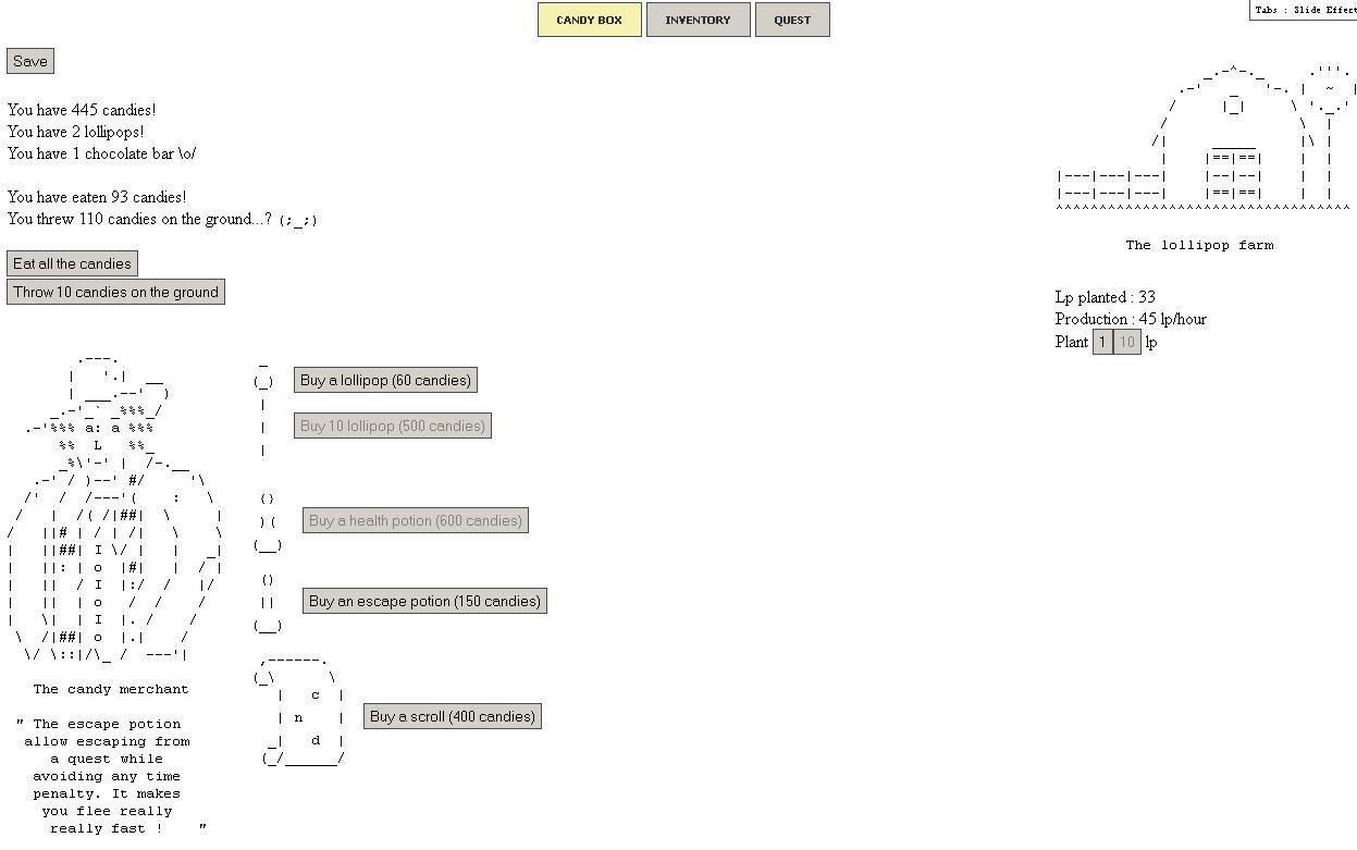 Занятная ASCII-игрушка в браузере.Немного терпения поначалу, и вы не сможете оторваться.Лягушка, которая загадывает  ... - Изображение 1