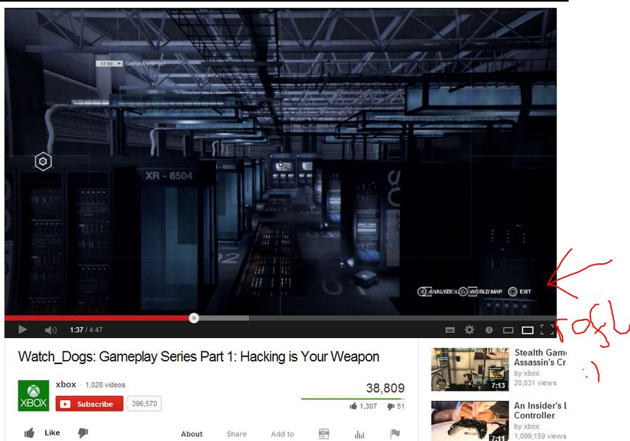 Уже несколько месяцев на официальном канале Xbox в YouTube лежит видео, в котором нам демонстрируют геймплей Watch D ... - Изображение 1
