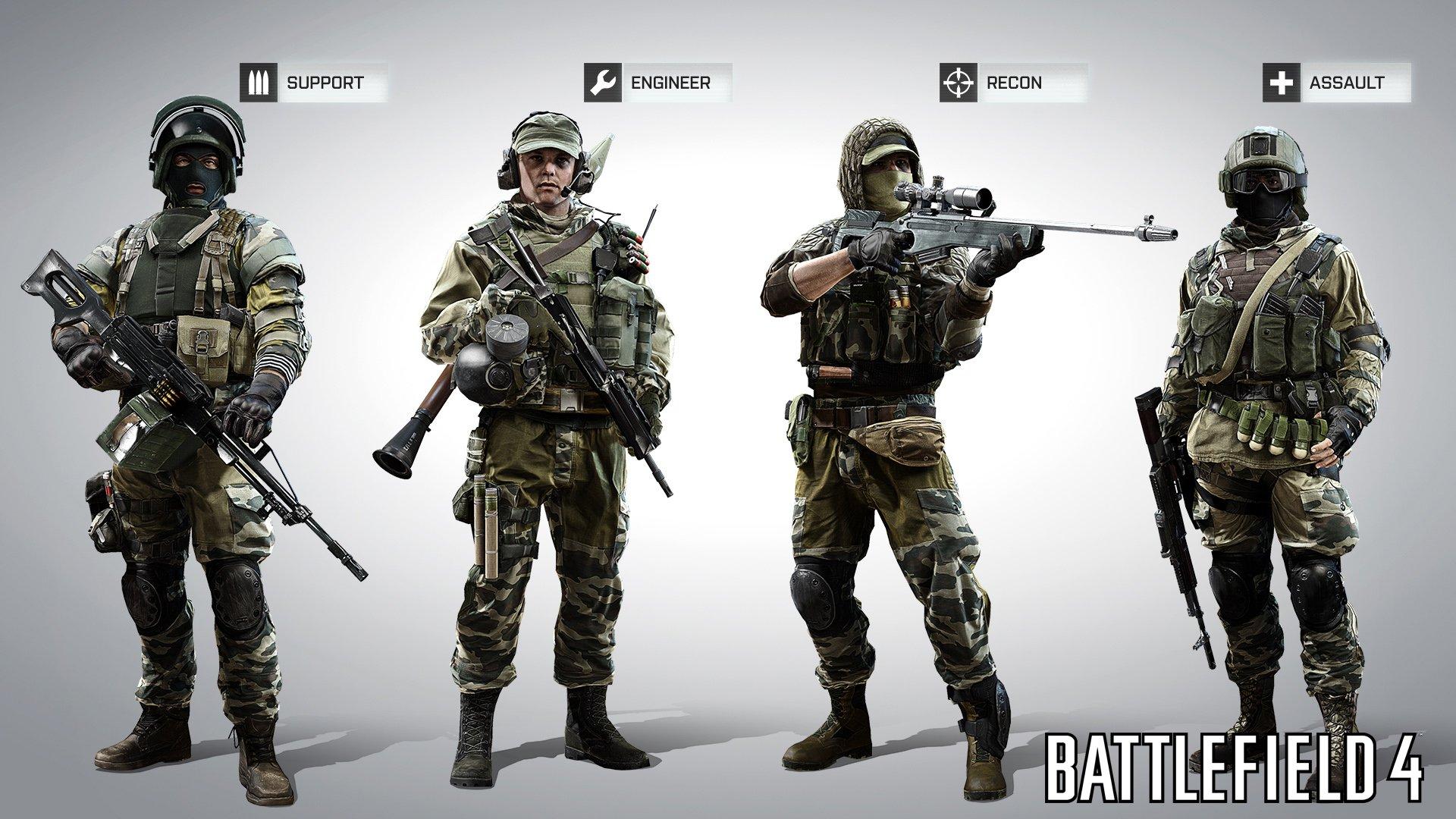 Вот нам и показали как будут выглядеть русские и китайские бойцы в #BF4. Лично мне наши очень нра ) - Изображение 1