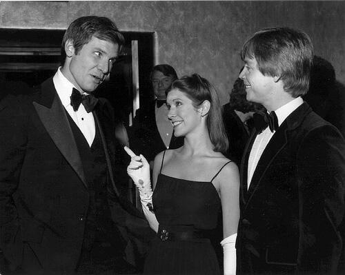 1977 год. На премьере Звездных Войн. #starwars - Изображение 1