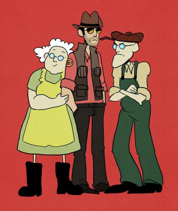 Родители Снайпера =) - Изображение 1
