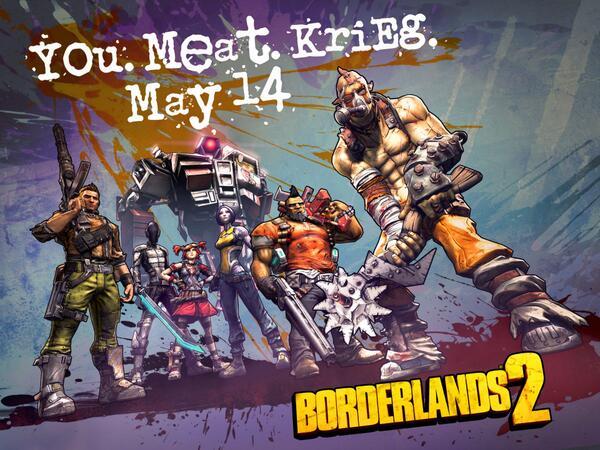 Новый персонаж в Borderlands 2DLC Krieg the Psycho для Borderlands 2, добавит нового персонажа. Теперь их станет уже ... - Изображение 1