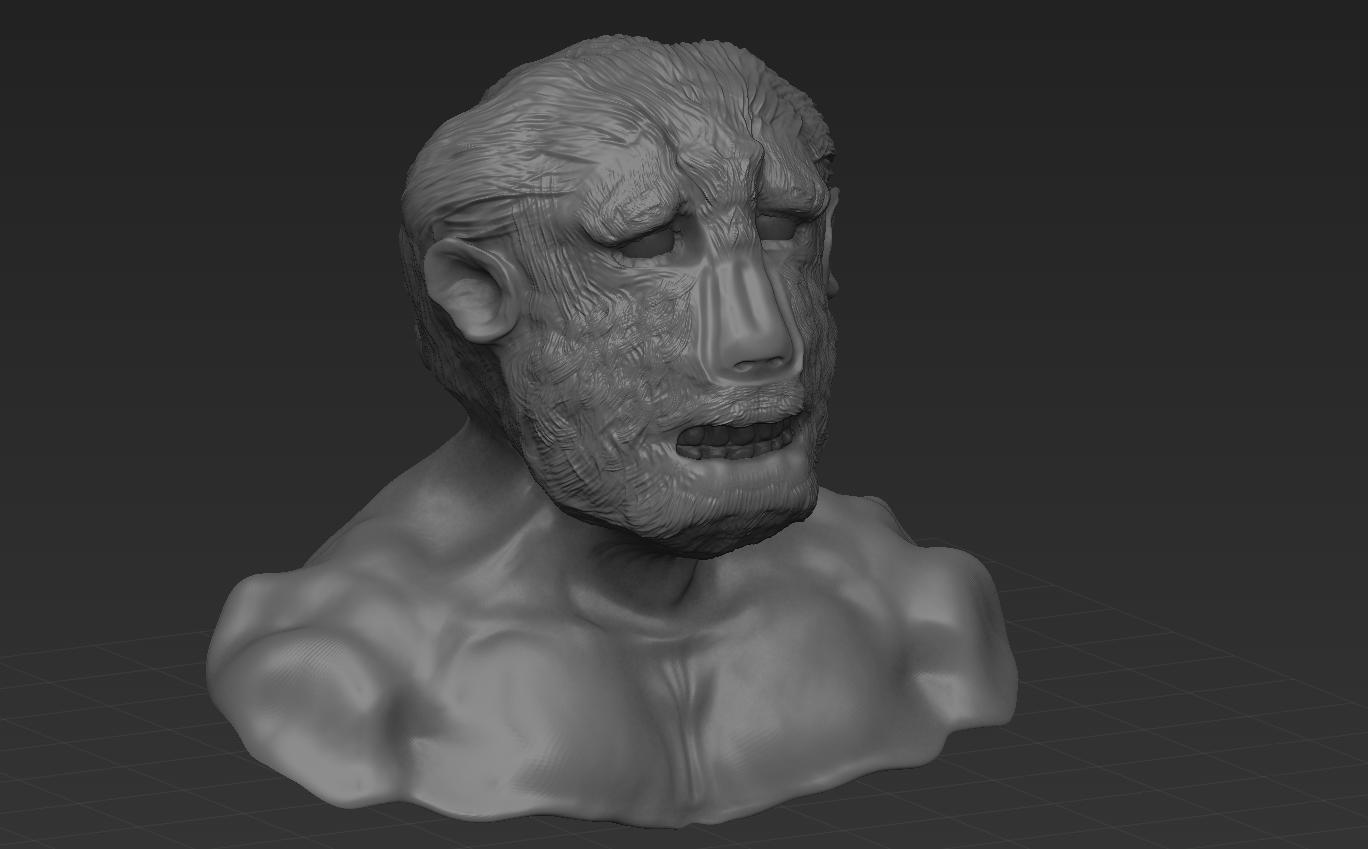 Учусь  делать модели в zbrush. - Изображение 1
