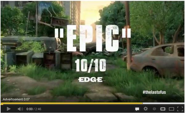 Посоны, The Last of Us Edge - 10/10. EDGE ставит десятку, причём только пятнадцатую за всю свою историю. По их слова .... - Изображение 1