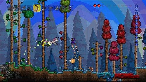 Известная песочница Terraria выходит на PS VitaС тех пор как мы объявили, что Terraria выходит на консоли, мы были п ... - Изображение 1