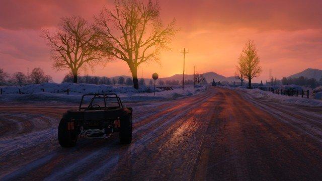 Красивый закат в GTA: Online  - Изображение 1