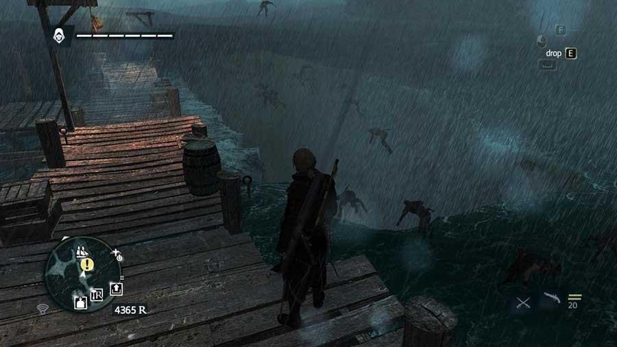Сначала мой корабль исчез и оставил команду тонуть. А потом они начали левитировать.. - Изображение 1