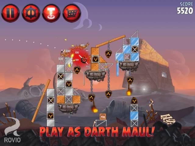 Скриншоты вышедшей PC-версии Angry Birds: Star Wars II. - Изображение 1