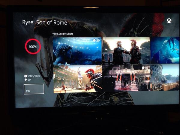 Вот так выглядит меню ачивментов на Xbox One. #XO #XboxOne - Изображение 1