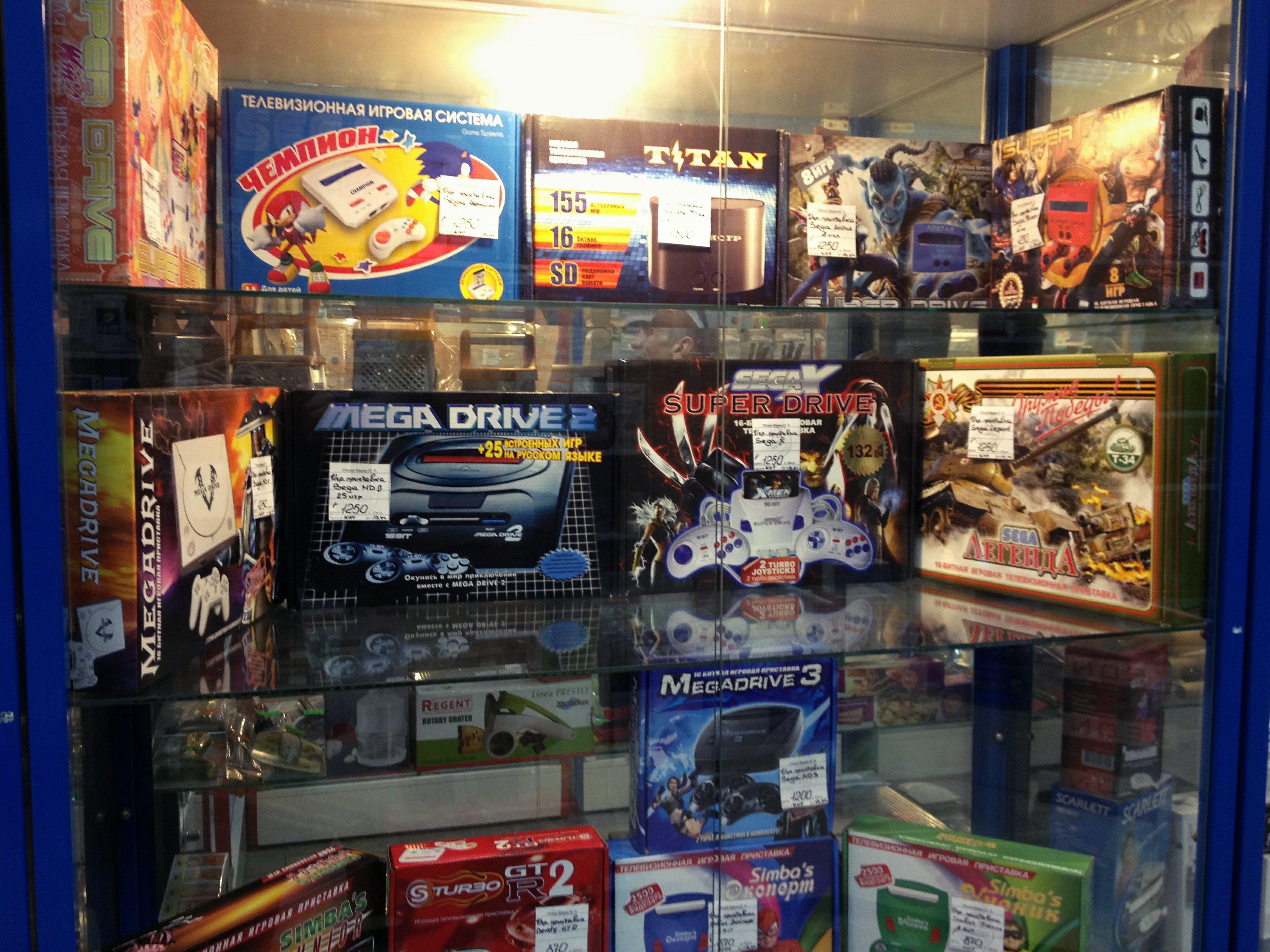 """Уголок ностальгии в ближайшем магазине """"Все для дома""""!А так же Angry Birds для Sega Genesis в продаже!#nostalgic - Изображение 3"""