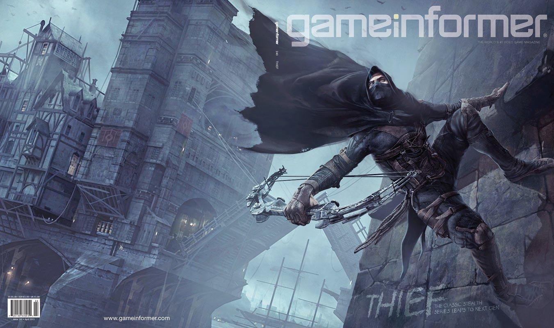 Новый GameInformer и анонс нового Thief без цифры 4 в названии. Гаррет возвращается в Город, чтобы красть, но там чу ... - Изображение 1