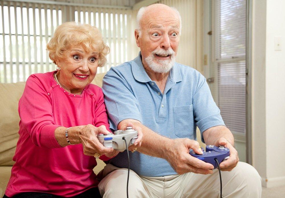 Компьютерные игры полезны пенсионерам !  Ученые пришли к выводу, что некоторые компьютерные игры могут помочь поддер ... - Изображение 1