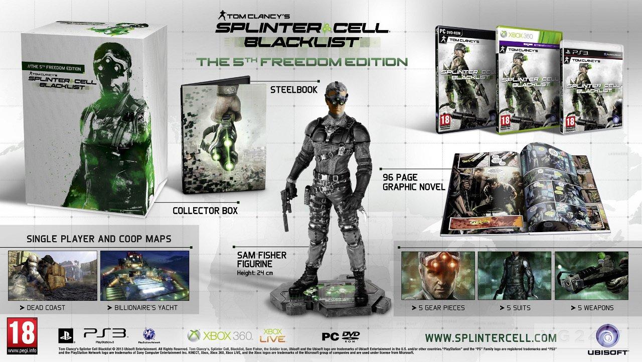 Коллекционное издание Tom Clancy's Splinter Cell: Blacklist. Ок или не ок? - Изображение 1