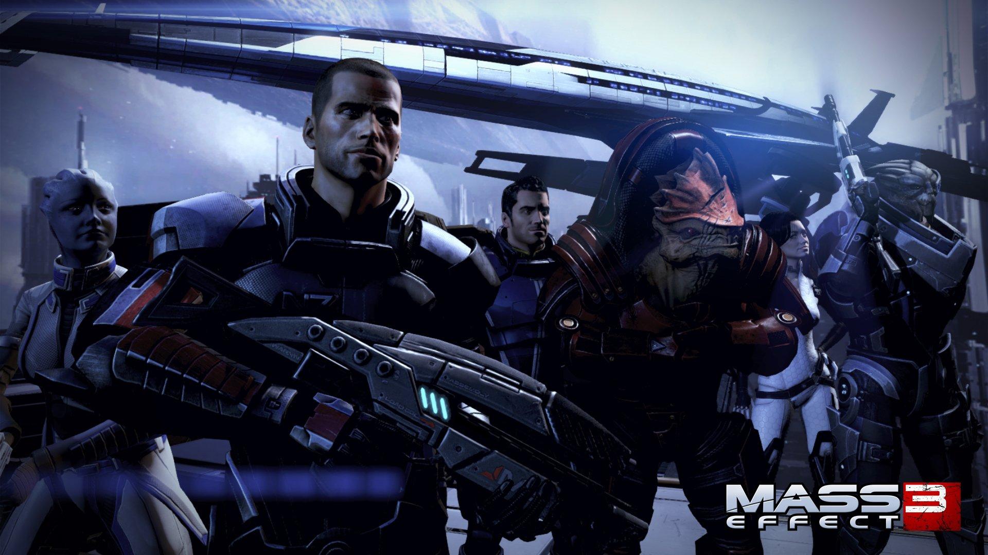 Вчера вышло последнее DLC для Mass Effect 3. Оно вышло спустя год после самой игры, спустя год после того, как мой Ш ... - Изображение 1