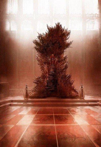 Джордж Р. Р. Мартин показал «правильный» железный трон  Джордж Мартин сетует на то, что зачастую его видение расходи ... - Изображение 1