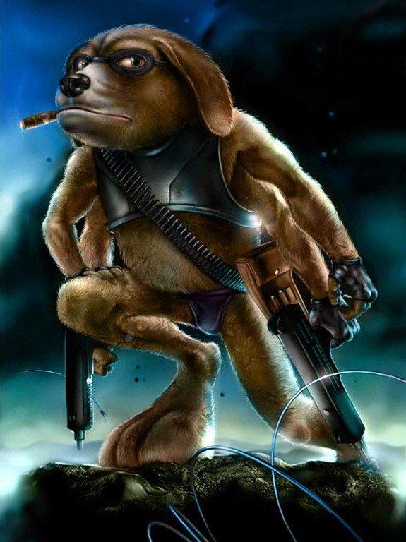 Это Макс и он самый крутой пёс в видеоиграх !!! :)   Жаль ,что сейчас таких игр не делают :(( - Изображение 1