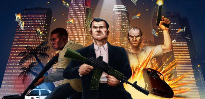 Лесли Бензис (Leslie Benzies), глава Rockstar North, в интервью порталу Videogamer сообщил, что за главных героев GT ... - Изображение 1