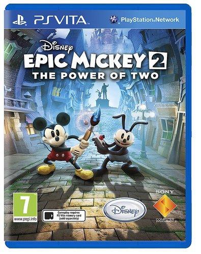 Витости 26/04/2013  Дата выхода Epic Mickey 2    Sony объявила, что Epic Mickey 2: The Power of Two выйдет на PS Vit ... - Изображение 1