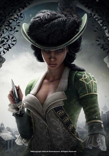 Такой мы увидим Авелину в Assassins Creed 4 Black Flag. Миссии с Авелиной это эксклюзив для PS3 и PS4. - Изображение 1