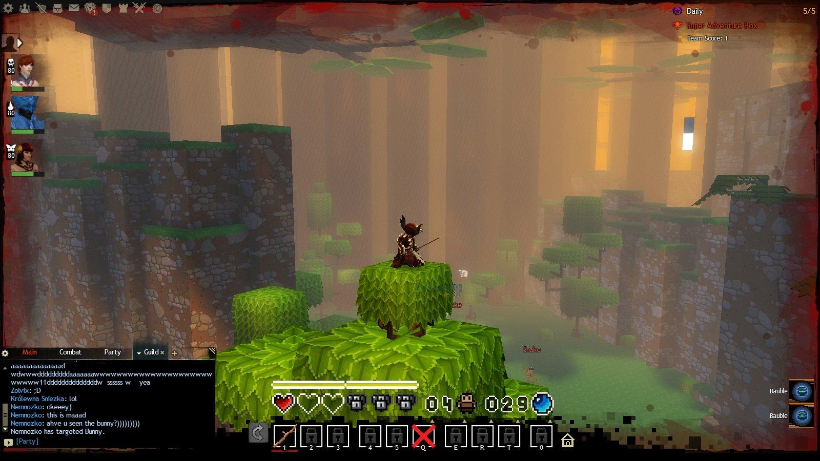 Первое апреля в Guild Wars 2. Там еще восьмибитная музыка играет на фоне <3 - Изображение 1